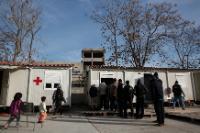 Eleonas, temporary refugees accomodation center, in Athens