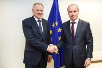 Visit of Achim Irimescu, Romanian Minister for Agriculture and Rural Development