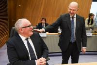 Réunion extraordinaire de la Commission Juncker