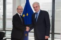 Visit of Fabrizio Curcio, Head of the Italian Civil Protection, to the EC