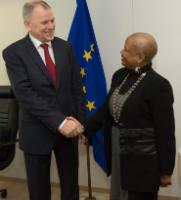 Visit of Norma Goicochea Estenoz, Head of mission of Cuba to the EU, to the EC
