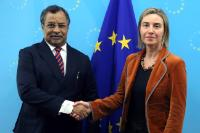 Visit of Mahamat Saleh Annadif, Special Representative of Ban Ki-moon, Secretary General of the United Nations, and Head of the United Nations Multidimensional Integrated Stabilization Mission in Mali, to the EC