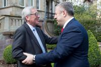 Visit of Jean-Claude Juncker, President of the EC, to the Council of Europe