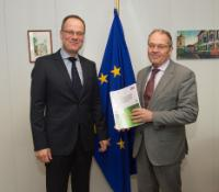 Visit of Alex Brenninkmeijer, Member of the European Court of Auditors, to the EC