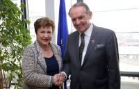 Visit of Jan Eliasson, Deputy Secretary General of the United Nations, to the EC