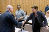 Visit of Kristalina Georgieva, Vice-President of the EC, to France