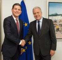 Visit of David Miliband, President and CEO of the International Rescue Committee, to the EC