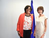 Visit of Myriam El Khomri, French Minister for Labour, Employment, Vocational Training and Social Dialogue, to the EC