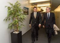 Visit of François Villeroy de Galhau, Governor of the Bank of France, to the EC