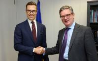 Visit of Alexander Stubb, Member of the Finnish Parliament, to the EC