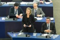 Participation of Federica Mogherini, Vice-President of the EC, in the EP plenary session