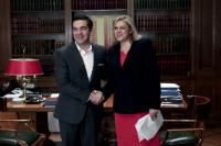Visit of Corina Creţu, Member of the EC, to Greece