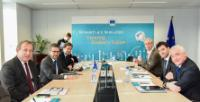 Visit of the leading authorities on the Open Science Cloud, to the EC