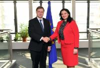 Visit of Ivanna Klympush-Tsintsadze, Ukrainian Vice-Prime Minister for European and Euro-Atlantic Integration, to the EC