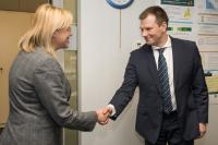 Visit of Vilius Šapoka, Lithuanian Minister for Finance, to the EC
