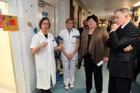 Visit of Vytenis Andriukaitis, Member of the EC, to the Gasthuisberg campus of the university hospitals of Leuven