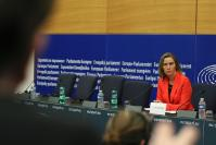 Press conference by Federica Mogherini, Vice-President of the EC, on a Joint Communication proposing a forward-looking EU strategy for Syria
