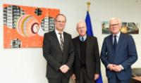 Visit of Hans-Gert Pöttering, Chairman of the Konrad Adenauer Foundation (Konrad-Adenauer-Stiftung) and Volker Hassemer, Chairman of the Board of Stiftung Zukunft Berlin, to the EC