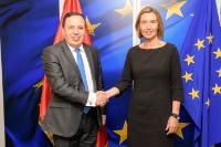 Visit of Khemaies Jhinaoui, Tunisian Minister for Foreign Affairs, to the EC