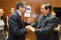 Bilateral meeting between Carlos Moedas, Member of the EC, and Wan Gang, Chinese Minister for Science and Technology