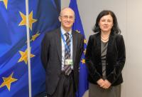 Visit of Andrea Enria, Chairman of the European Banking Authority (EBA), to the EC