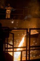 Le site de production d'ArcelorMittal à Dąbrowa Górnicza, Pologne