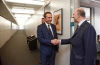 Visit of Christophe Rouillon, Member of the Committee of the Regions (CoR), to the EC