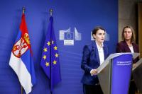 Visit of Ana Brnabić, Serbian Prime Minister, to the EC