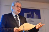 Christos Stylianides, Member of the EC, at the Global Education Cluster Annual Partners' Meeting