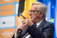 Dialogue avec les citoyens St. Vith (Belgique) avec Jean-Claude Juncker, président de la CE