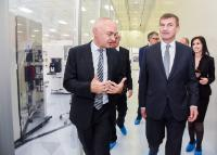 Visit by Andrus Ansip, Vice-President of the EC, to IMEC (Interuniversity microelectronics centre) in Leuven