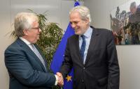 Visit of Eduardo Cabrita, Portuguese Minister for Internal Administration, to the EC
