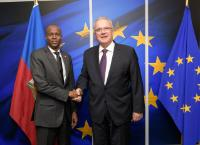 Visit of Jovenel Moïse, President of Haiti, to the EC