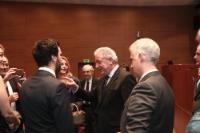 Visite de Dimitris Avramopoulos, membre de la CE, en Grèce
