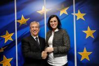 Visite de Elisabeth Köstinger, ministre fédérale autrichienne de l'Agriculture, des Forêts, Environnement, Gestion des eaux et Tourisme, à la CE