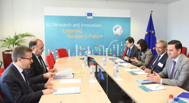 Visit of Pedro Marques, Portuguese Minister for Planning and Infrastructure and Nelson de Souza, Portuguese Secretary of State for Development and Cohesion, to the EC
