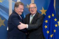 Visite de Sauli Niinistö, président de la Finlande, à la CE