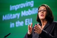 Press conference by Violeta Bulc, Member of the EC, on the Military Mobility Package