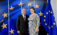 Visit of Ana Paula Vitorino, Portuguese Minister for the Sea, to the EC