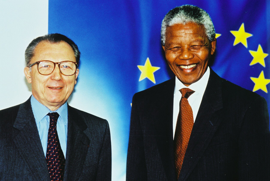 Visit of Nelson Mandela, President of the ANC, to the CEC