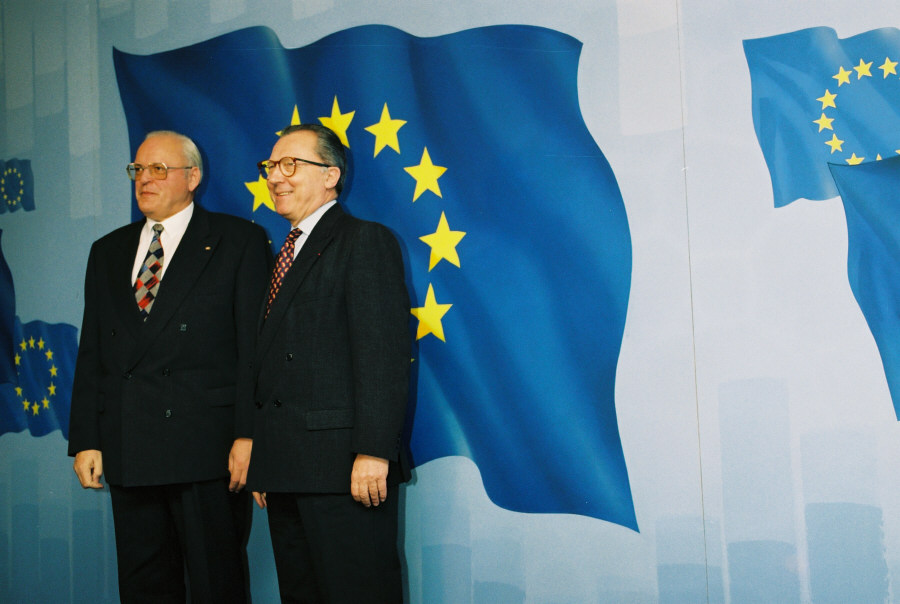 Visit of Roman Herzog, Federal President of Germany, to the EC