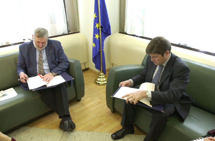 Signature of an EU - Bulgaria Financing Agreement in the Framework of Accession