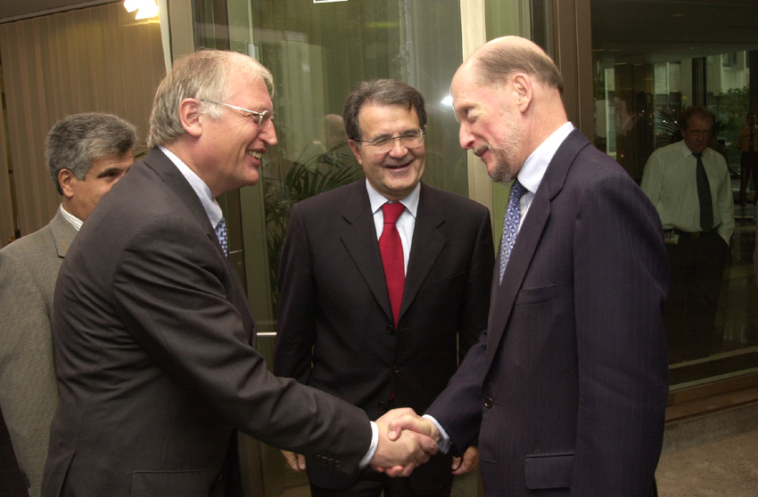 Visit of Simeon Saxe-Coburg Gotha, Bulgarian Prime Minister, to the EC