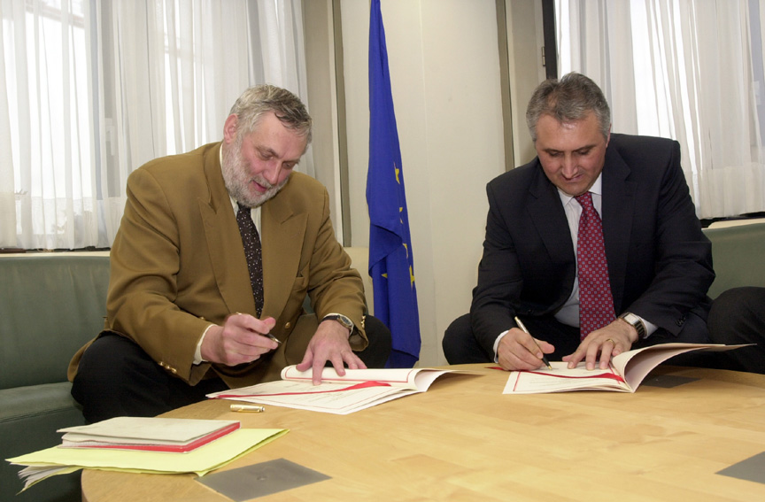 Signature of an EU-Bulgaria financing agreement in the framework of membership