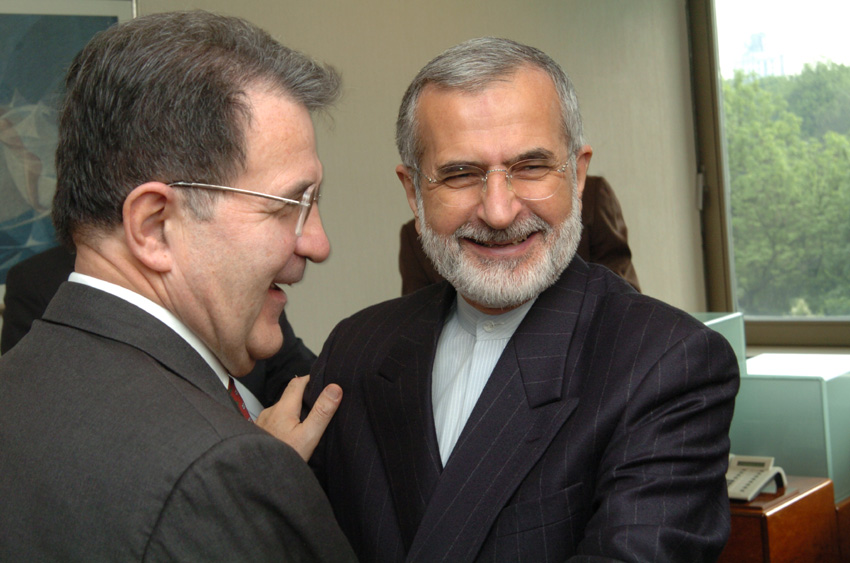 Visit of Kamal Kharrazi, Iranian Minister for Foreign Affairs, to the EC