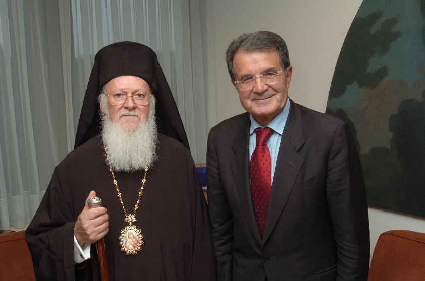 Visit of Bartholomew I, Patriarch of Constantinople, to the EC