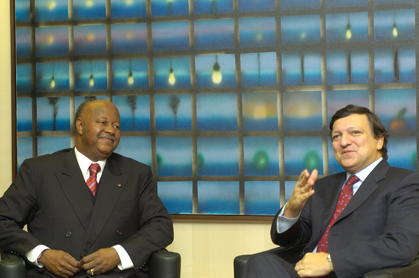 Visit of Carlos Gomes Júnior, Prime Minister of Guinea-Bissau, to the EC
