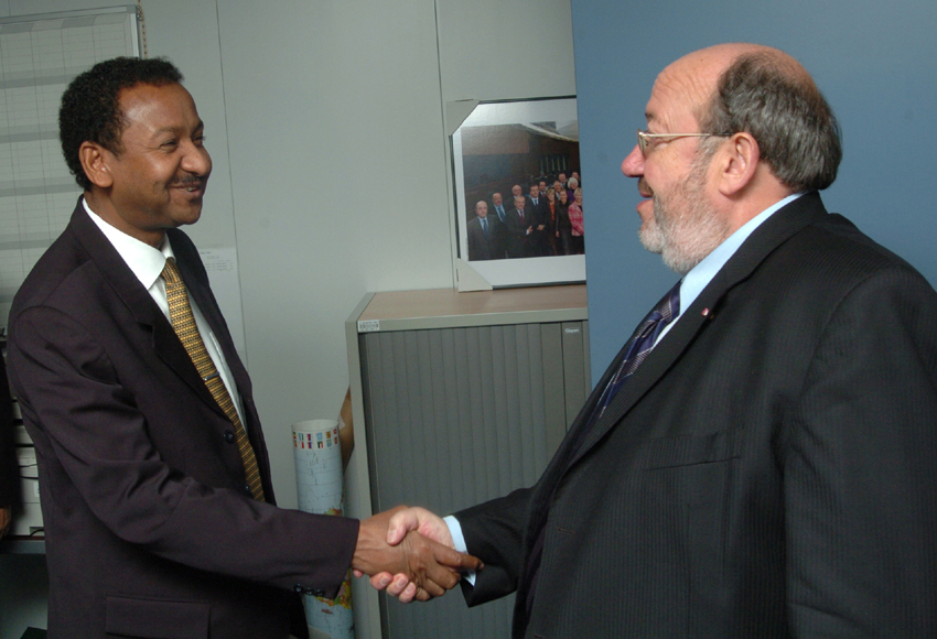 Visit of Mustafa Osman Ismail, Sudan Minister for Foreign Affairs, to the EC