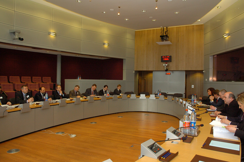 Visit of the Executive Directors of the World Bank to the EC