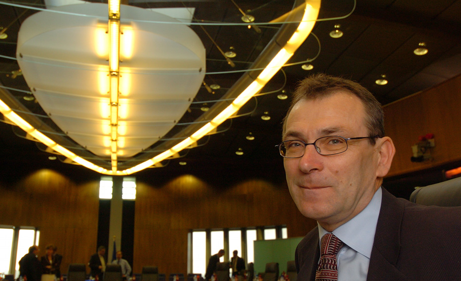 Andris Piebalgs, Member of the EC in charge of Energy
